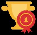 Multi Champion Marrino Pom Vincent Magnifisent    trophy